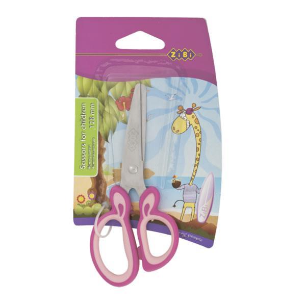 Ножницы детские Zibi ZB.5011-10 128 мм розовые