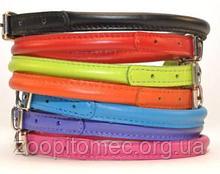 Круглый ошейник Collar Glamour для длинношерстных собак 8 мм 20-25 см