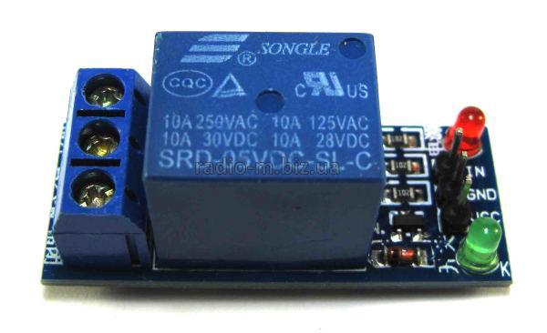 Модуль реле 1-канальный 5V