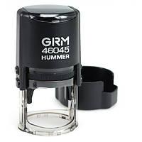 Оснастка для печати круглая GRM 46045 d-45 мм синяя подушка