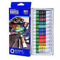 Масляные краски Josef Otten EO1212C Basics в тубах 12 мл 12 цветов