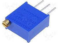 Резистор подстроечный многооборотный 3296W-101 (100 Ом)