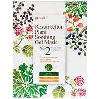 Petitfee, Resurrection Plant Soothing Gel Mask, 10 Masks, 30 g Each