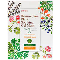 Petitfee, Resurrection Plant Soothing Gel Mask, 10 Masks, 30 g Each