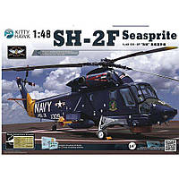 "Вертолет SH-2F ""Seasprite"". 1/48 KITTY HAWK KH80122"