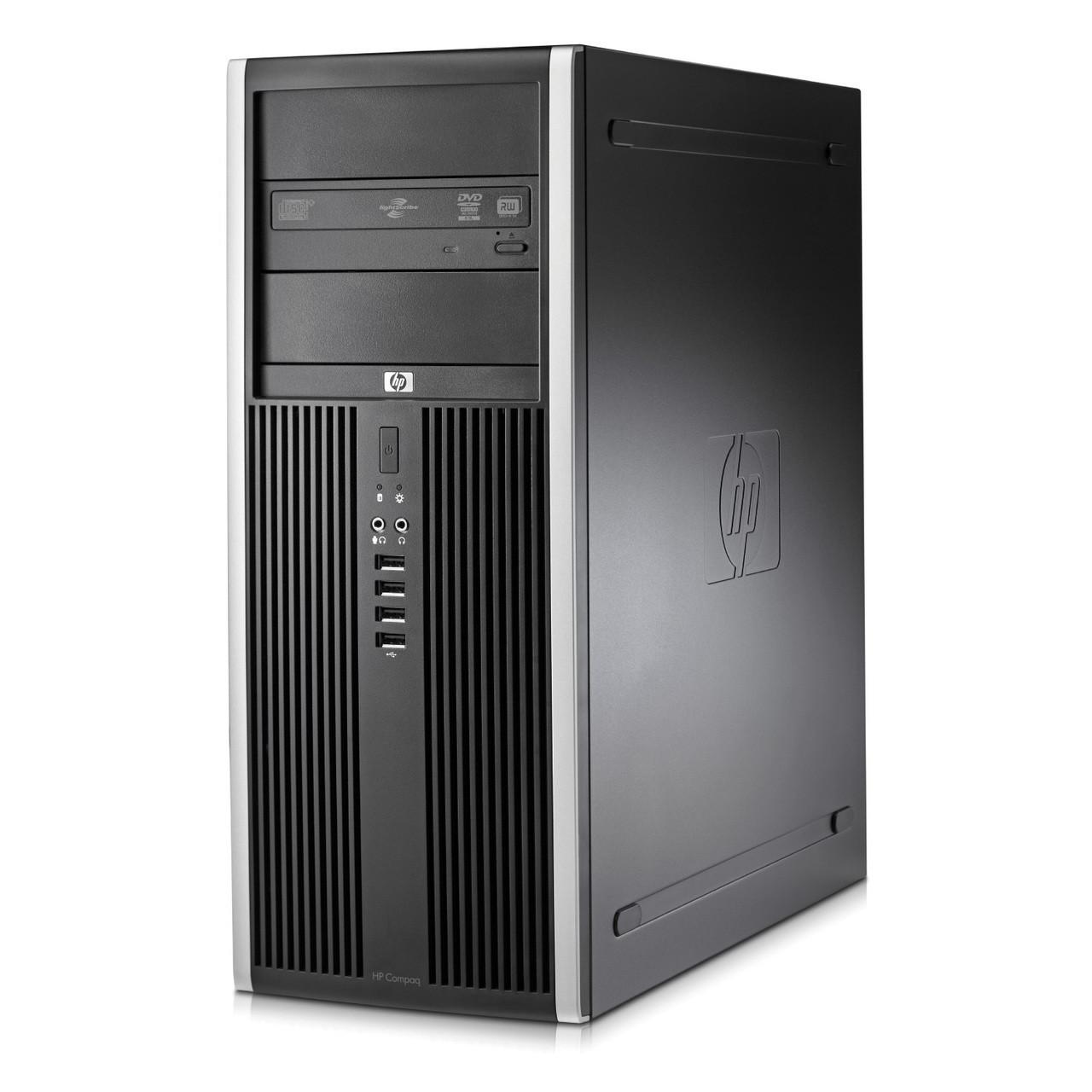 HP DC8000 Tower / Intel Core 2 Duo E8400 (2 ядра по 3.0 GHz) / 4 GB DDR3 / 250 GB HDD / GeForce GT 430 1 GB