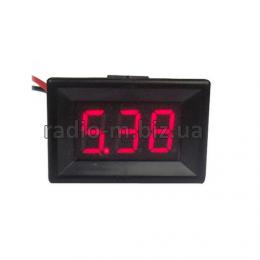 """0.36"""" вольтметр двухпроводной в корпусе 3.80V-100V"""