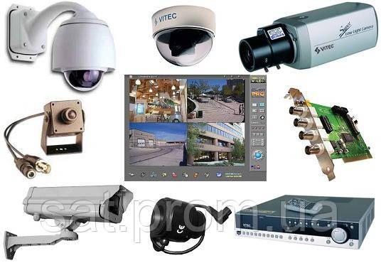 Установка систем видеонаблюдения - TELECOM в Мелитополе