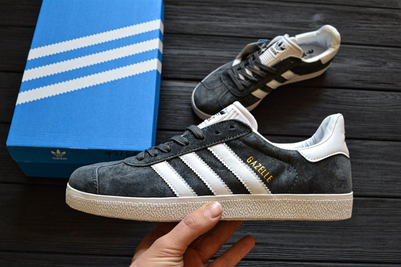 Adidas Gazelle Solid Grey White | ????????? ???????; ????? ?????