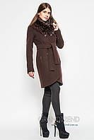 Теплое  женское кашемировое пальто X-Woyz 8529