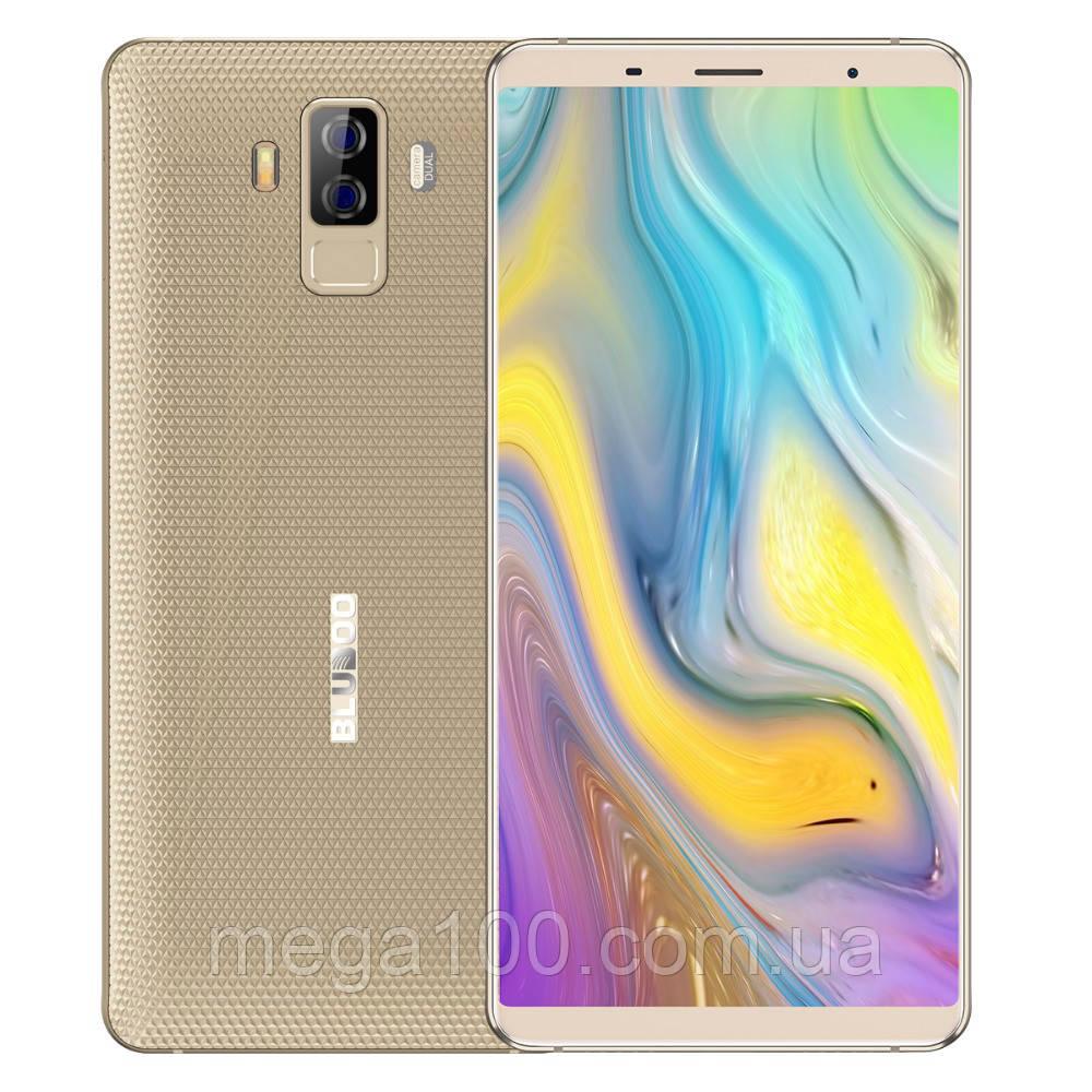 Смартфон Bluboo S3 золотой (экран 6, памяти 4Гб /64Гб, батарея 8500 мАч)