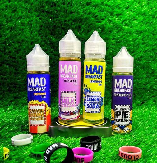 Жидкость для электронных сигарет Mad Breakfast 60ml Оригинал