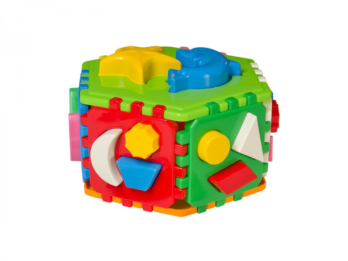 """Куб сортер """"Розумний малюк """"Гіппо ТехноК"""" 2445"""