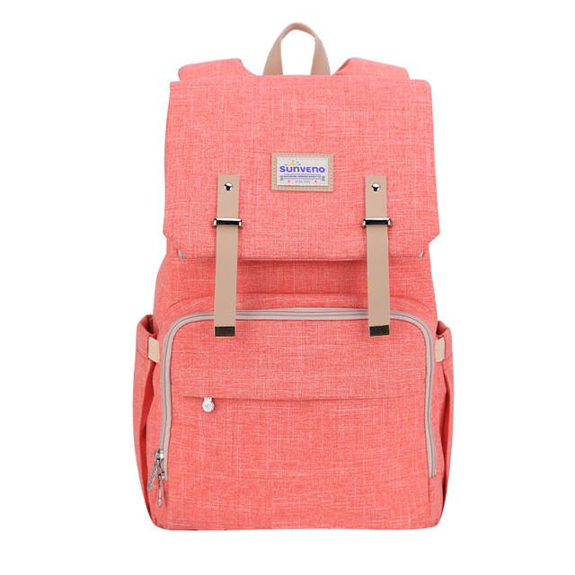 Рюкзак-сумка для мам Оригинал Sunveno Classic. Умный органайзер. Стильный дизайн.