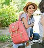 Рюкзак-сумка для мам Оригинал Sunveno Classic. Умный органайзер. Стильный дизайн., фото 6