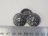 Красивые пуговицы, круглые 25 мм, клаcсика