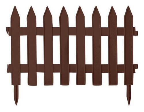 Садовое ограждение GRADEN CLASSIC - коричневый, 3,6 м, фото 2