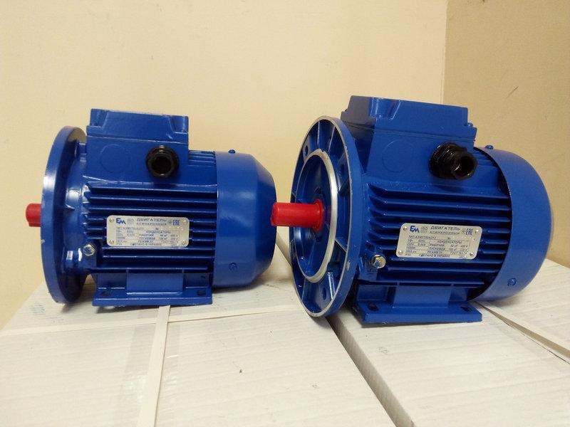 Электродвигатель 380 АИР 71 В2  1,1кВт 3000 об/мин
