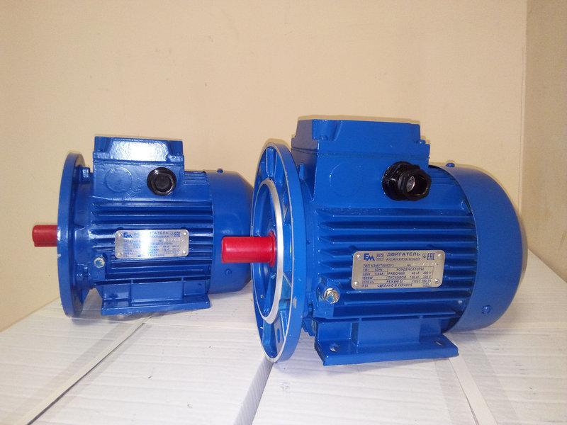 Электродвигатель 380 АИР 80 А2 1.5 кВт 3000 об/мин