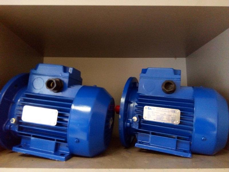 Электродвигатель 380 АИР 80 В2  2,2 кВт 3000 об/мин
