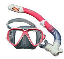 Маска для плавания детская с трубкой Keep Diving