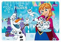 """Подложка для стола 1Вересня 491455 детская """"Frozen"""", 425х290мм"""