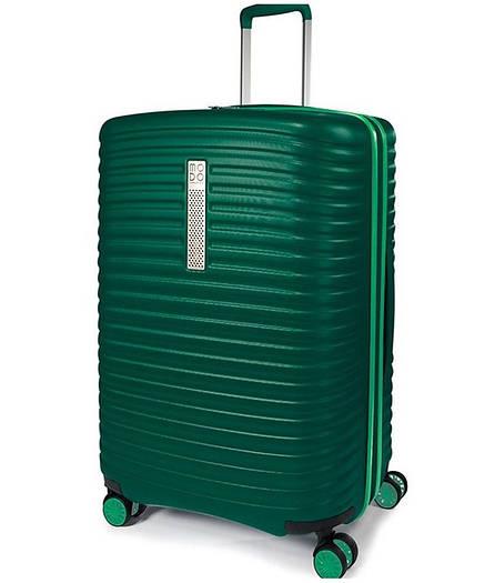 Средний пластиковый чемодан на 4-х колeсах Roncato Vega