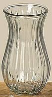 Прозрачная ваза Criso изготовлена из стекла