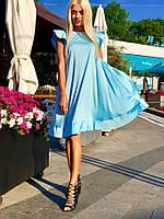 Платье летнее шелковое в расцветках 25198, фото 1