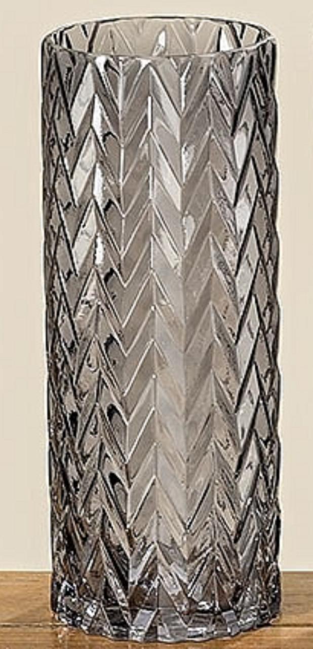 Стильна ваза лакованого скла
