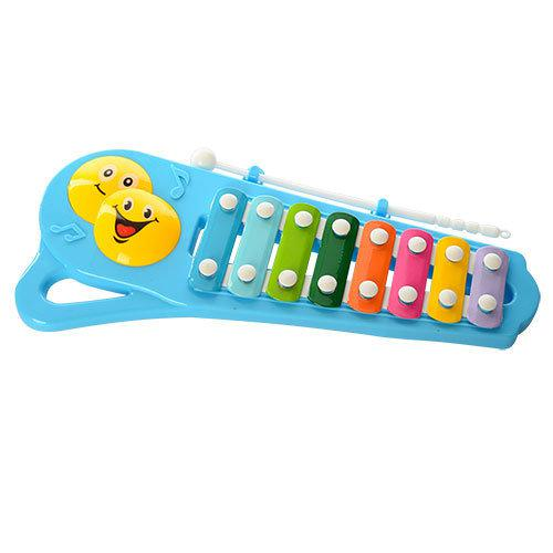 Ксилофон в кульку 6804, мікс кольорів