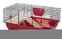 Клетка для домашних кроликов G355 Super Rabbit 70 color InterZoo(700*400*330мм)