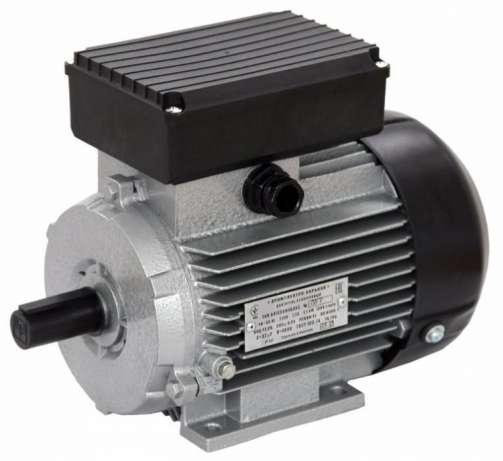 Электродвигатель однофазный 1,1 кВт 3000 об/мин