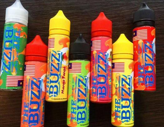 Жидкость для электронных сигарет The buzz 60 мл Оригинал