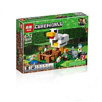 Конструктор Minecraft Майнкрафт - Курятник Lepin 18035