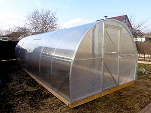 Теплица Эльдорадо 3х4 под поликарбонат 4 мм стандарт