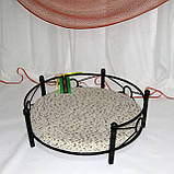 Лежак для домашних животных кованый угловой, фото 3
