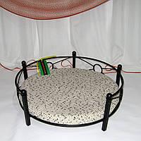 Лежак для домашних животных кованый угловой, фото 1