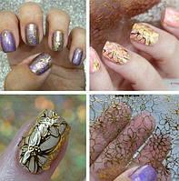 Наклейки имитация литья, для дизайна ногтей, фото 1
