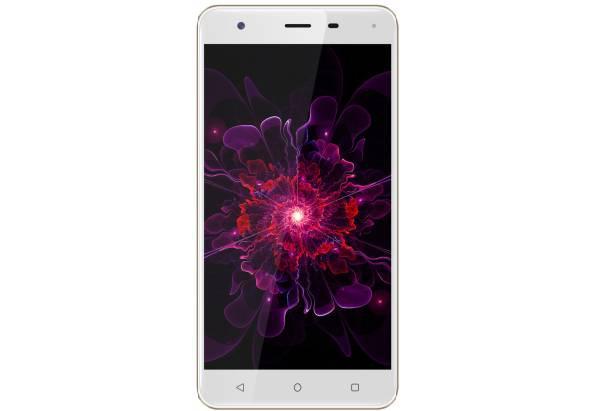 """Смартфон на 2 сим карты в металлическом корпусе со сканером отпечатка пальца 5,5"""" 2/16Gb Nomi i5532 Space X2"""