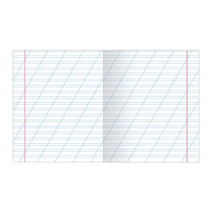 Тетрадь 12 листов в косую линию для девочек Микс, фото 2
