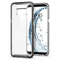 Чехол Spigen для Samsung S8 Plus Neo Hybrid Crystal, Gunmetal