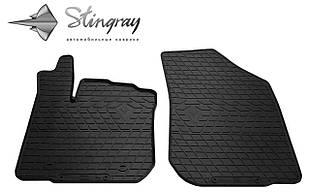 Renault Sandero Stepway 2013- Комплект из 2-х ковриков Черный в салон