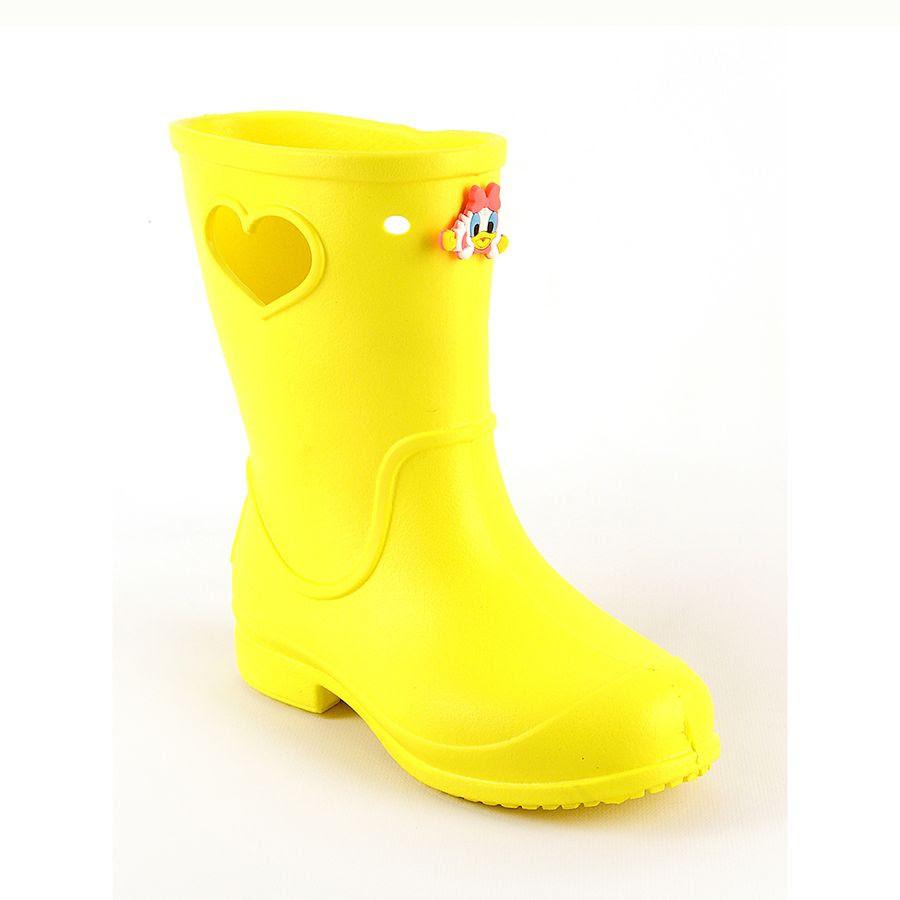 57ac6ee48 Резиновые сапоги для мальчиков и девочек желтые - mioBambino Интернет  магазин детской обуви в Днепре