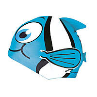 Детская шапочка для бассейна рыбка Spokey Rybka (original) синяя
