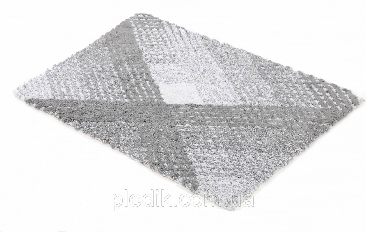 Коврик для ванной хлопок 70х110 IRYA WALL GRI серый