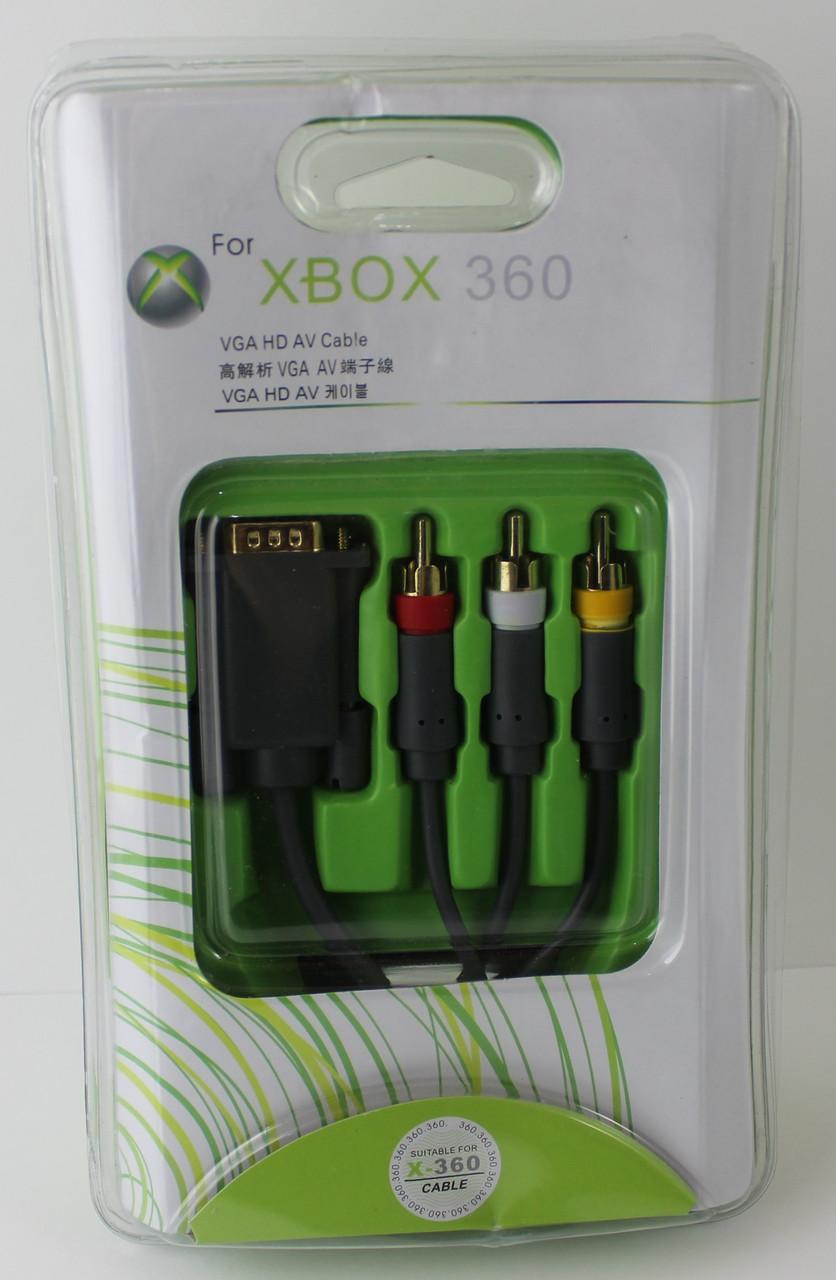 VGA HD AV Cable XBOX 360
