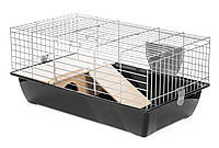 Клетка InterZoo G356 Super Rabbit 70 zinc для содержания кроликов (700*400*330мм)