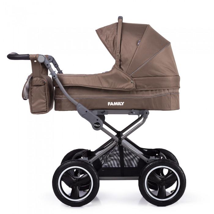 Детская коляска универсальная Baby Tilly Family бежевая