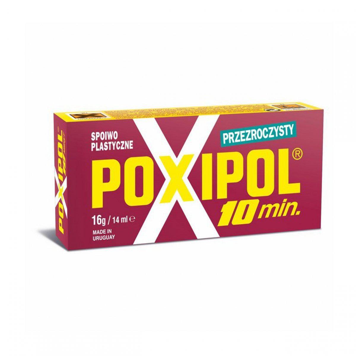 Клей POXIPOL прозрачный 82г/70мл (большая упаковка)